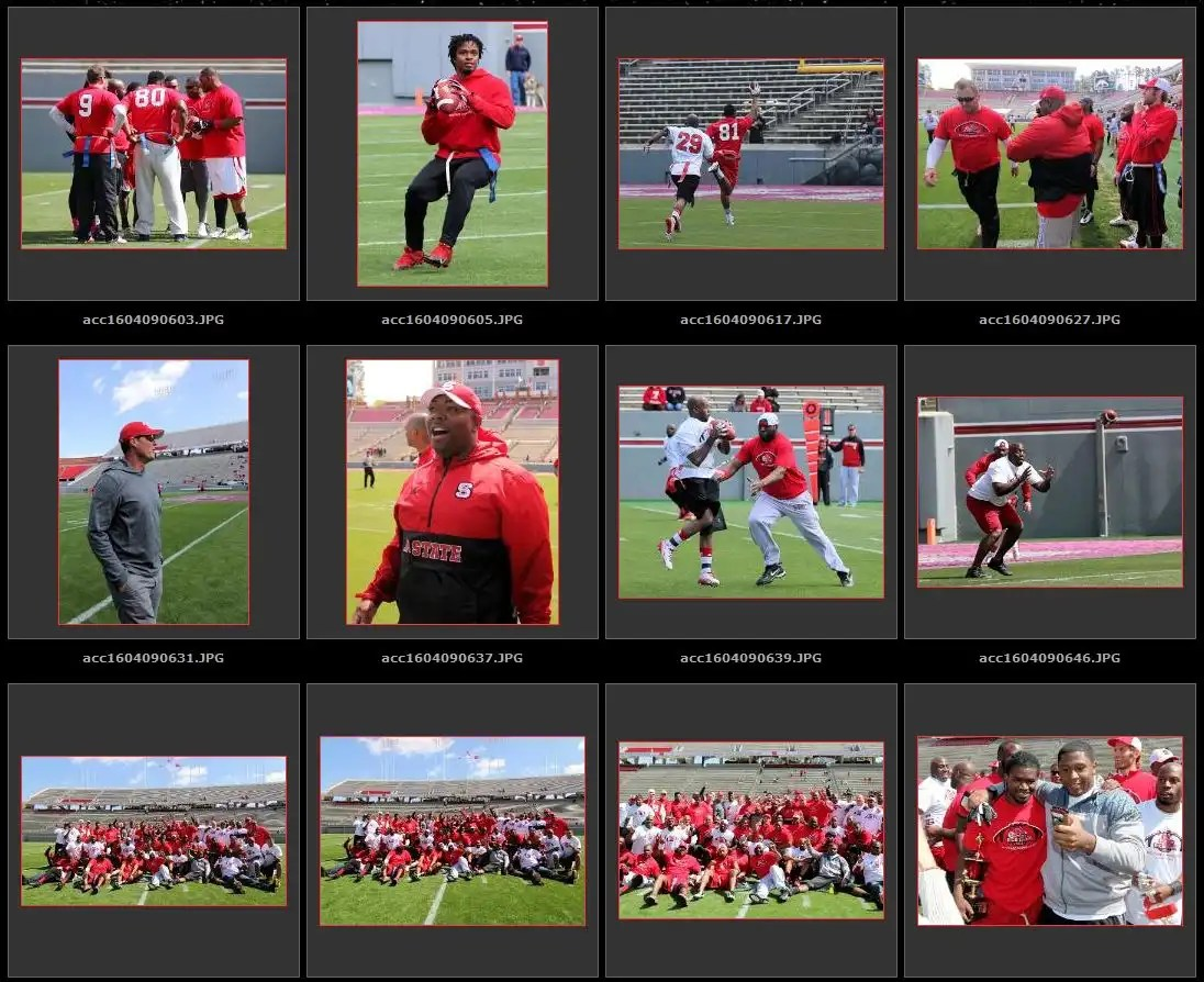 4594182080e Check out over 150 pictures from the flag football game at  accfootballphotos.com 2016 acc160409ncsualumnigame  · NC State Wolfpack ...