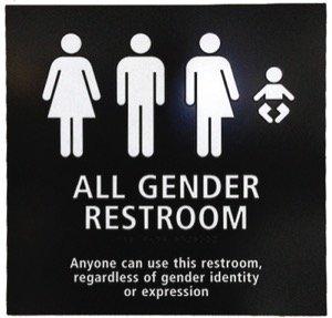 all-gender bathrooms
