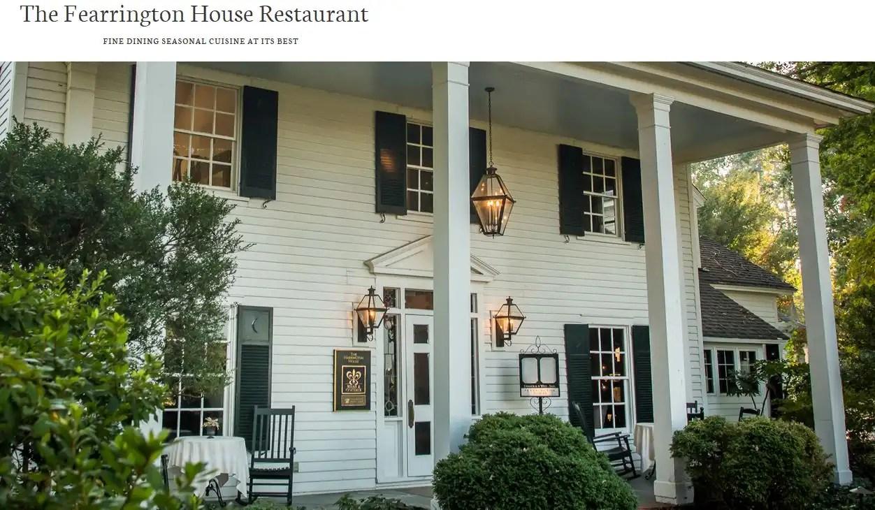 Fearrington House Restaurant 6