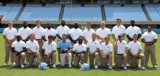 UNC Football coaches