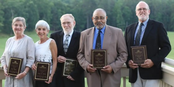 Chatham County Schools Retirees 21-25 years