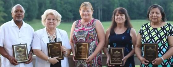 Chatham County School retirees. 0 - 10 years