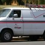Verizon truck