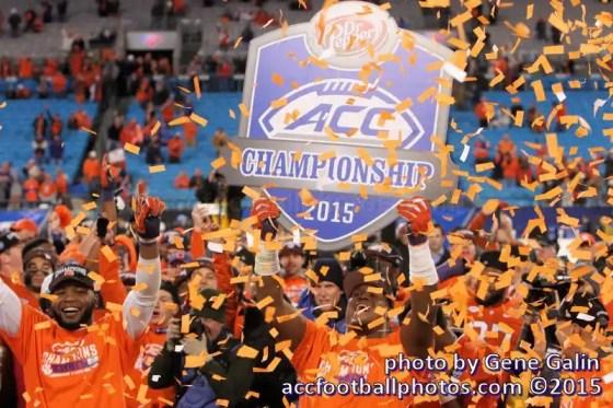 Clemson ACC Football Champions