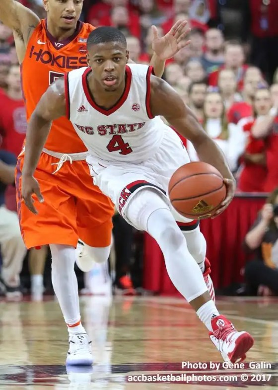 NC State Wolfpack guard Dennis Smith, Jr.
