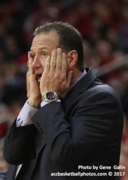 NC State basketball coach Mark Gottfried
