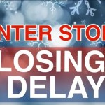 winter storm closings and delays