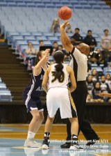 Mt. Airy vs Pamlico County tip-off