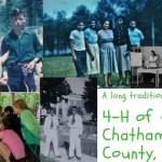 chatham 4h tradition