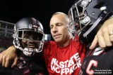 Dave Doeren and players