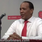 NC State basketball coach Kevin