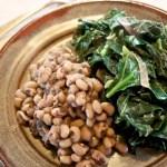 collards and black eyed peas
