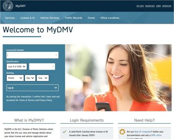 NC MyDMV