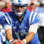 Duke quarterback Daniel Jones.