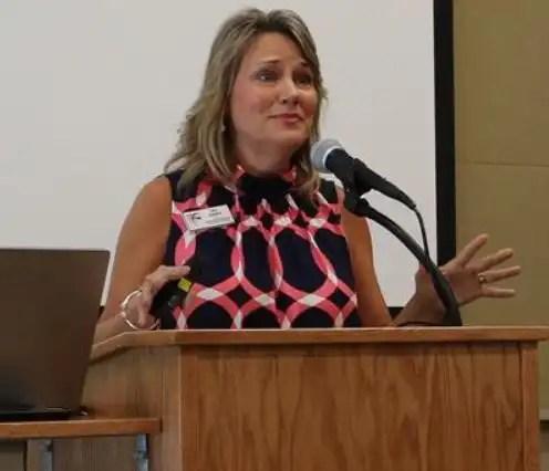 2017 Burroughs Wellcome Fund North Carolina Teacher of the Year Lisa Godwin
