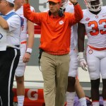 Clemson coach Dabo Sweeney 2017