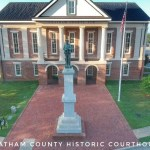 Chatham County historic courthouse