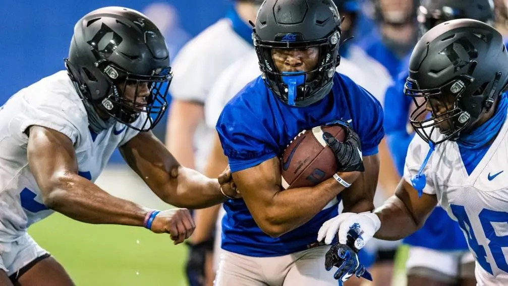 Duke spring football practice officially kicked off Friday