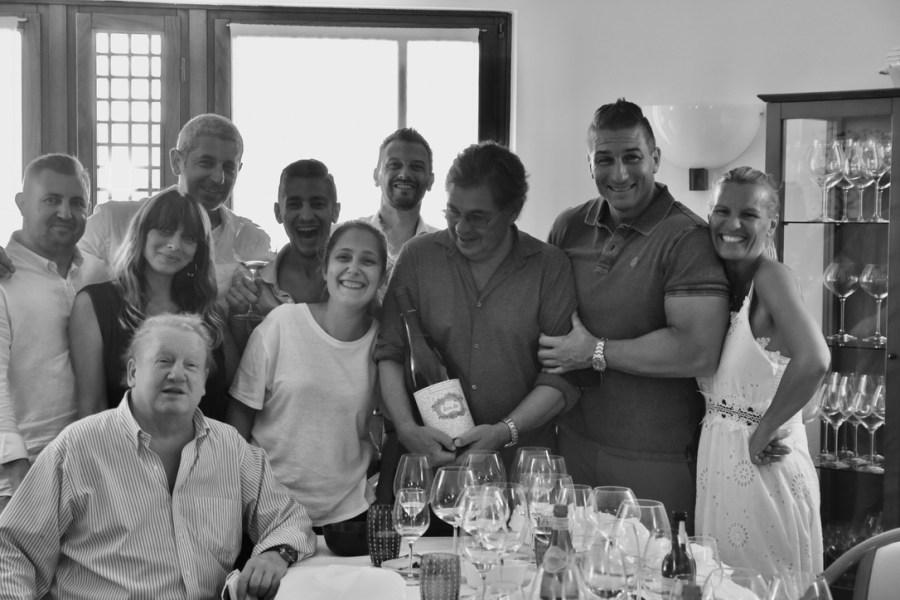 Livio Felluga, Abbazia di Rosazzo visita e pranzo con Maurizio Felluga