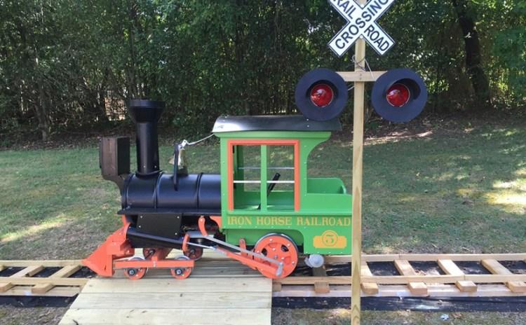 Grandfather Built Backyard Railroad