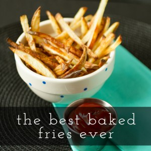 baked fries // chattavore