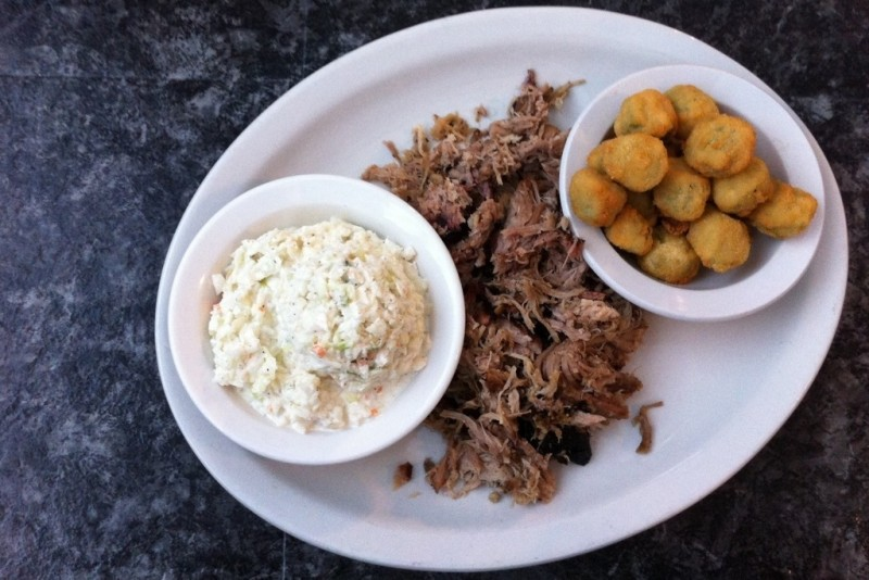 Choo Choo Bar-B-Que is a popular barbecue joint located on Hixson Pike in Hixson, Tennessee...less than five minutes from Publix. | Restaurant Review from Chattavore.com
