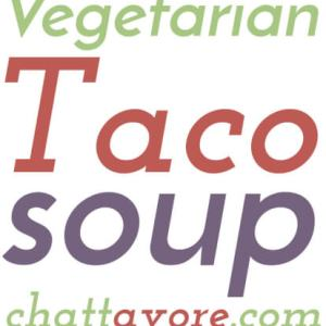 This vegetarian taco soup is healthy and delicious, and it's easy to make in either your slow cooker or your Instant Pot!   recipe from Chattavore.com