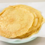 Crepes with Brown Butter-Artichoke Sauce