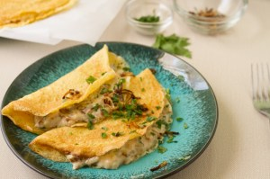 Brown Butter Béchamel with Shallots and Artichokes