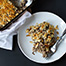 Cheesy Mushroom and Wild Rice Casserole