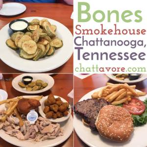 Bones Smokehouse is a popular barbecue restaurant in East Brainerd that recently reopened after a lengthy hiatus due to road construction. | restaurant review from Chattavore.com