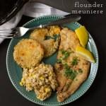 Flounder Meuniere