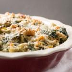 Spinach & Artichoke Pasta Pie