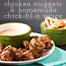 chicken nuggets & chick-fil-a sauce // chattavore