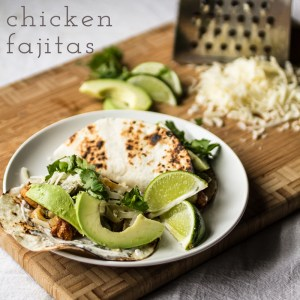 chicken fajitas // chattavore