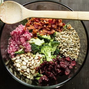 broccoli salad // chattavore