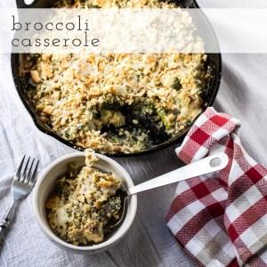 broccoli casserole   chattavore