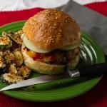 Crispy Panko Pork Sandwich with Sriracha Drizzle