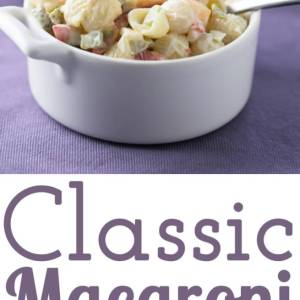 This classic macaroni salad is another treasure from my grandmother's collection. It's easy and just a little different from the norm.