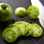 Fried Green Tomatoes with Alabama White Sauce