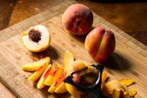 peach breakfast crisp | chattavore