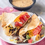 Crispy Flour Tortilla Tacos
