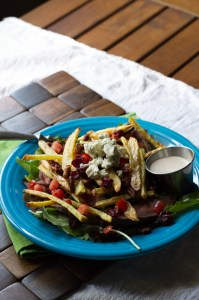 steak & fries salad | chattavore