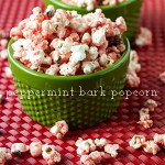 Peppermint Bark Popcorn