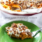Sweet Potato & Pineapple Casserole