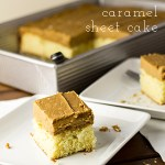 Caramel Sheet Cake