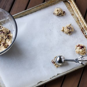 cranberry white chocolate chip cookies | chattavore