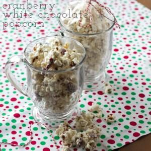 cranberry white chocolate popcorn | chattavore