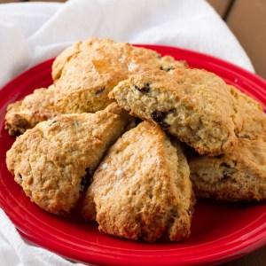 cranberry orange scones | chattavore