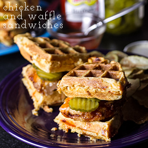 chicken and waffle sandwiches | chattavore